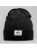 Alpha Industries Beanie X-Fit schwarz