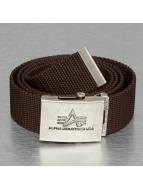 Alpha Industries Belt Heavy Duty brown