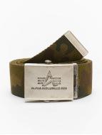 Alpha Industries Heavy Duty Belt Woodland Camo