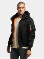 Alpha Industries Bomber jacket MA-1 Hooded black