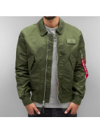 Alpha Industries Bomberjack CWU LW PM groen