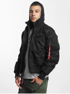 Alpha Industries Bomberjack MA-1 D-Tec SE Flight zwart