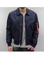Alpha Industries Bomberjacke CWU LW PM blau