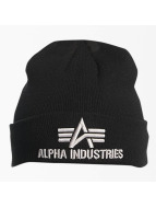 Alpha Industries Bonnet 3D noir