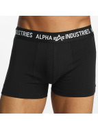 Alpha Industries Boxershorts Trunk schwarz
