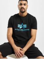 Alpha Industries Camiseta Basic negro