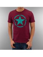 Alpha Industries Camiseta Star rojo