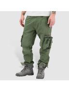 Alpha Industries Cargo pants Tough olivový