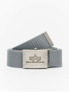 Alpha Industries Ceinture Heavy Duty gris