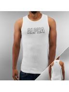 Alpha Industries Débardeurs Track blanc