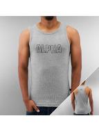 Alpha Industries Débardeurs Track gris