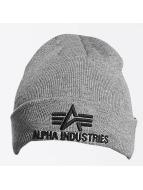 Alpha Industries Hat-1 3D gray