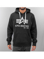 Alpha Industries Hoodie Big A Classic black