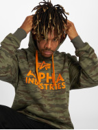 Alpha Industries Hoodies Foam Print camouflage