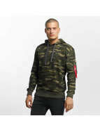 Alpha Industries Hoodies X-Fit kamufláž