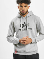 Alpha Industries Hoody Basic grau