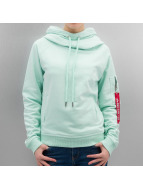 Alpha Industries Hoody X-Fit groen