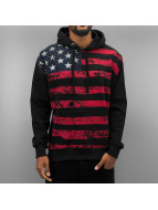 Alpha Industries Hoody Flag schwarz