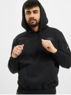 Alpha Industries Hoody Back Print schwarz