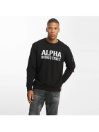 Alpha Industries Jumper Camo Print black