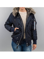 Alpha Industries Manteau hiver Artic bleu