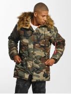 Alpha Industries N3B VF 59 Jacket Woodland Camo