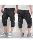 Alpha Industries Pantalón cortos Imperial 3/4 negro