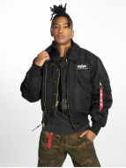 Alpha Industries Pilotjakke X-Force Bomber svart