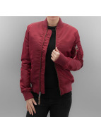 Alpha Industries Pilottitaki MA 1 VF 59 Women punainen