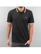 Alpha Industries Poloshirt Twin Stripe black