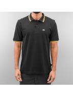 Alpha Industries Poloshirt Twin Stripe schwarz