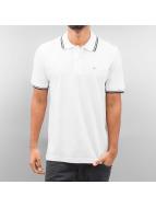 Alpha Industries Poloshirt Twin Stripe weiß