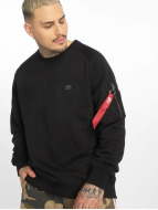 Alpha Industries Pullover X-Fit noir