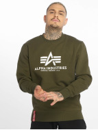 Alpha Industries Pullover Basic vert
