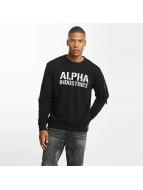 Alpha Industries Pulóvre Camo Print èierna