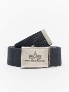 Alpha Industries riem Heavy Duty grijs