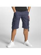 Alpha Industries shorts Jet blauw