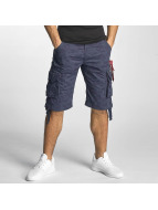 Alpha Industries Shorts Jet bleu