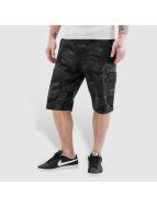 Alpha Industries Shorts Deck noir
