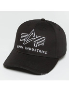 Alpha Industries Snapback Cap Big A Classic black