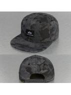 Alpha Industries Snapback Cap X-Fit nero