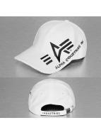 Alpha Industries snapback cap Big A Cross wit