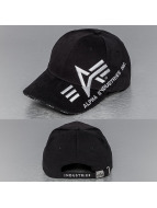 Alpha Industries snapback cap Big A Cross zwart