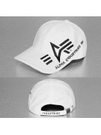 Alpha Industries Snapback Capler Big A Cross beyaz