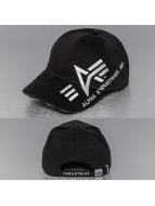 Alpha Industries Snapback Caps Big A Cross musta