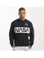 Alpha Industries Swetry NASA Inlay niebieski