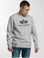 Alpha Industries Swetry Basic szary