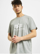Alpha Industries T-paidat Basic harmaa