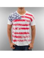 Alpha Industries T-shirt US bianco