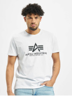 Alpha Industries T-Shirt Basic blanc